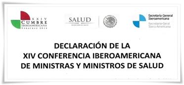 Declaración de la XIV Conferencia Iberoamericana de Ministras y ministros de salud