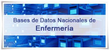 Bases de datos nacionales de Enfermería