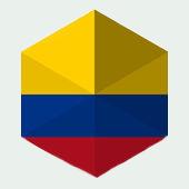 Bandera de la Colombia