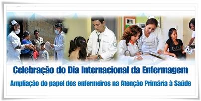 Celebração do Dia Internacional da Enfermagem